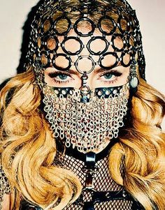 Madonna.. Dont try to kiss ;-)