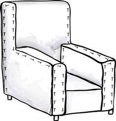 Easy instructions on making custom fit slipcovers