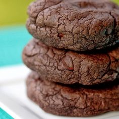 Chocolate Fudge Cookies - Recipes, Dinner Ideas, Healthy Recipes & Food Guide