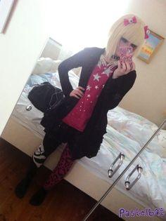 Pastelbat ✝pastel goth, creepy cute, spooky kawaii