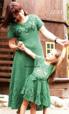 L'angelo dell'uncinetto: Abito per bambina