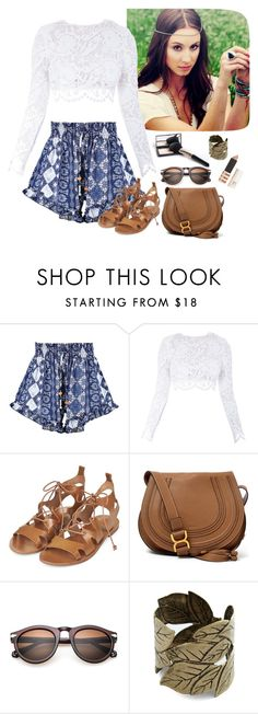 """summer festivals"" by joanaa-cfp ❤ liked on Polyvore featuring Boohoo, Stone_Cold_Fox, Topshop and Chloé"