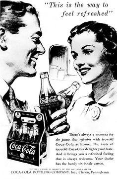 Vintage Coca Cola Ad Poster Digital Art - Vintage Coca Cola Ad Poster . #coke #coca-cola..