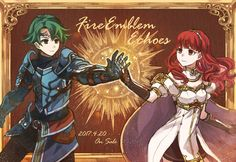 We need to stay together (Fire Emblem Echoes: Shadows of Valentia)