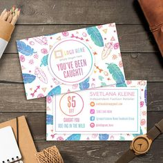 LuLaRoe Boho Wild Cards Free Personalized Home Office Approved