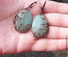 """Handmade earrings. Fair Masters - handmade earrings """"Vintage"""". Handmade."""