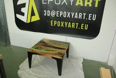 Epoxy resin with Walnut wood Walnut Wood, Epoxy, Coffee Tables, Countertops, Resin, Counter Tops, Living Room End Tables, Counter Top, Table Top Covers