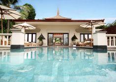 Honeymoon spot.  Trisara in Phuket, Thailand.