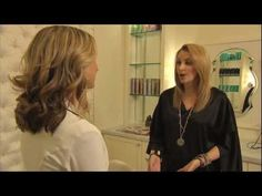 Victoria gets the VIP treatment from drybar NorthPark!