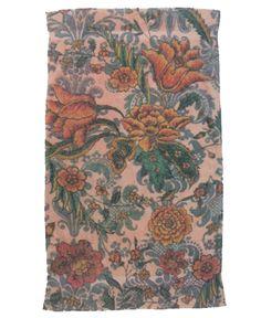 Fresco Towels Damask Flowers Pink Bath Towel
