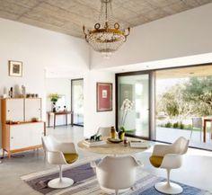 La chaise Tulipe d'Eero Saarinen, une chaise au design indémodable.