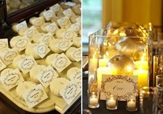 Who says that a wedding in fall has to be all gorry and scary?  It can be all gold, mystical and magical!