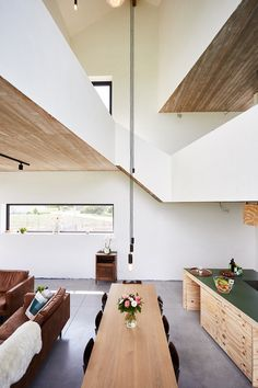 STAARC ingenieurs en architecten - house JS - interior - concrete - kitchen - photo Bram Tack