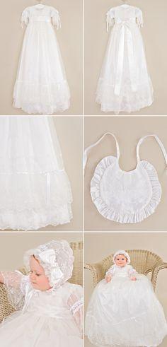 Girls' Clothing (sizes 4 & Up) Strong-Willed Baby Christening Flowergirl Party Wedding Bridesmaid Baptism Naming Dress 6-30m