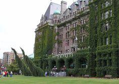 The Empress Hotel Victoria, BC