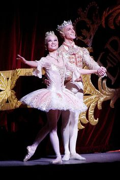 Miyako Yoshida and Steven McRae as the Sugar Plum Fairy and her prince in the Royal Ballet production of the Nutcracker on Wednesday 2 December 2009.