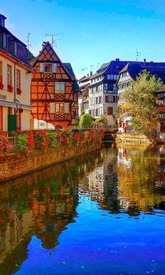 Beautiful Strasbourg , France