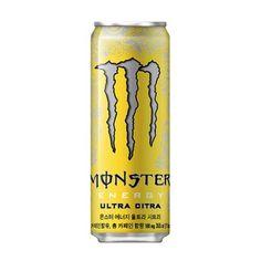 Monster Energy Ultra Citra Drinks Korea Non-alcoholic Can Beverage 355ml #MonsterEnergy Non Alcoholic Drinks, Fun Drinks, Monster Energy Clothing, Monster Energy Drink Logo, Supreme Iphone Wallpaper, Energy Drinks, Canning, Overlays, Beverage