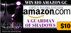 Giveaways & Glitter: A Guardian of Shadows by Travis Simmons - Book Review, Tour & Giveaway!