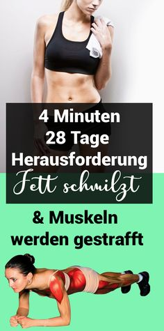 4 minutes - 28 days Challenge: Fat melts and muscles are toned 4 Minuten – 28 Tage Herausforderung: Fett schmilzt und Muskeln werden gestrafft 4 minutes – 28 days Challenge: Fat melts and muscles are toned Fitness Memes, Fitness Workouts, Health Fitness, Fit Girl Motivation, Fitness Motivation Quotes, Health Motivation, Fitness Inspiration, 30 Day Workout Challenge, Fitness Transformation
