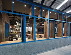 OT Grill by Golucci International Design, Beijing – China » Retail Design Blog