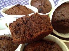 Muffins rápidas de chocolate y almendra