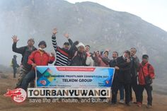 Paket gathering kantor di puncak gunung Ijen Banyuwangi
