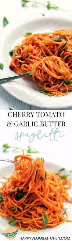 This one pot spaghetti requires only five ingredients and 15 minutes of your time! It is intensely flavorful and tastes just as good as a sauce that's simmered on the stove for an hour. via @happyveggiekitchen