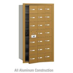 Salsbury Industries 4B+ Commercial Horizontal Mailbox 21 Door Front Loading Private Access