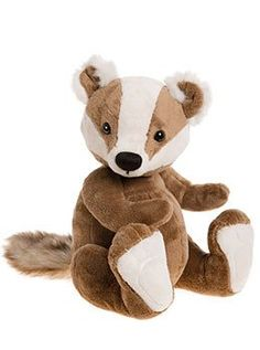 Charlie Bear Baby Boutique Gunther The Badger Charlie Bears, Candle Shop, Baby Boutique, Baby Essentials, Badger, Cuddling, Teddy Bear, Toys, Animals