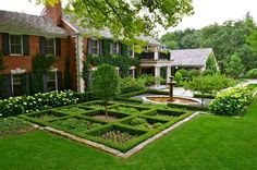 White Flowers + Checkerboard Landscaping Design Ideas, Pictures, Remodel, and Decor - page 2