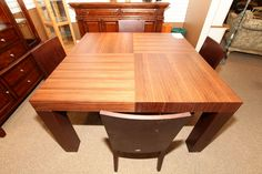 Modern Square DIning Table with 4 Chairs - Colleen's Classic Consignment, Las Vegas, NV - www.colleenconsign.com