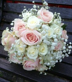 Simplistic elegance of akito and sweet avalanche roses nestled in gypsophilia. Bridal Flowers , Simplistic elegance of akito and sweet avalanche roses nestled in gypsophilia. Simplistic elegance of akito and sweet avalanche roses nestled in . Prom Flowers, Bridal Flowers, Rose Wedding Bouquet, Floral Wedding, Wedding Themes, Wedding Decorations, Bride Bouquets, Boquet, Flower Bouquets