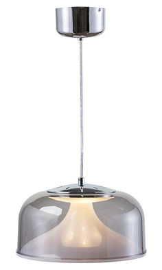 Nuevo Living Belle Pendant Lamp in Smokey