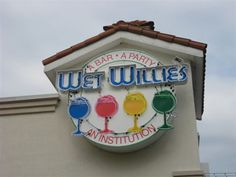 Wet Willie's at Broadway at the Beach in Myrtle Beach South Carolina