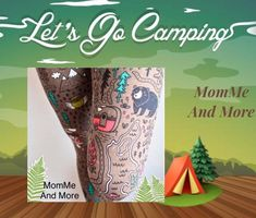 Womens Camping Leggings Nature Fish Bear Owls Fox Printed Hiking Pants – MomMe and Best Leggings, Women's Leggings, Leggings Are Not Pants, Women Camping, Go Camping, Best Hiking Shoes, Usa Girls, Buttery Soft Leggings, Fox Print