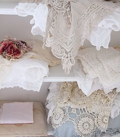 PRARIE FABRICS SOFTER SIDE INCLUDE LACE, COTTON, LINEN AND GAUZE