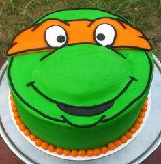 Teenage Mutant Ninja Turtles Birthday Cake! on Cake Central