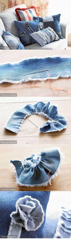 Denim Flower: