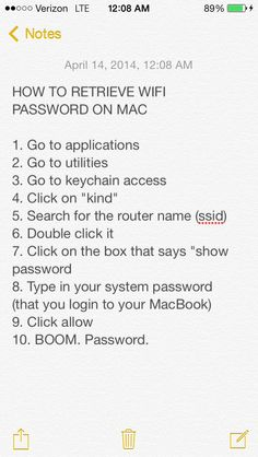 Forgot wifi password? Here's how to find it with a Mac without resetting the router.