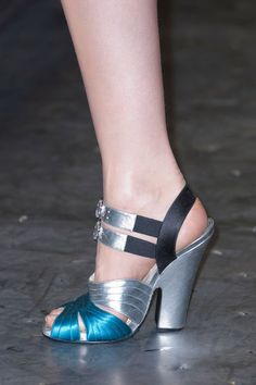 Runway Recap: The Best Shoes From Milan Fall 2013:  Prada Fall 2013    I will be looking for the knock offs!
