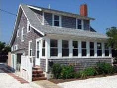 Jersey Shore Vacation Rentals: Ship Bottom Oceanblock 3rd house, 3 BR 2 BA, Nantucket Style House