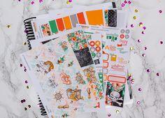 Yo-Ho Pirate Planner Sticker kit - Glitter - Erin Condren vertikal - Happy Planner - wöchentliches Sticker Kit - Erin Condren by PrettyEasyPlanning on Etsy