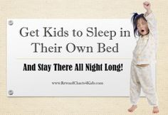 how to get child to sleep in their own bed