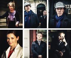 Sherlock series 3 pictures! I CANNOT WAIT!!! Why does he have the hat on?
