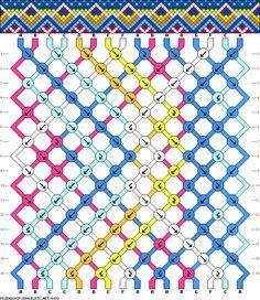 16 strings 16 rows 7 colors