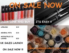 Hi It was a long time getting here but my Younique Store Is now OPEN.   I have launched a 3 DAY EVENT. I would love if you could have a look around.  I will be offering specials and also will be rewarding my loyal customers on a regular basis.   I hope you choose to buy from me. Thanks hunny, speak soon  xx  CLICK HERE .....   https://www.youniqueproducts.com/dianeuk/party/790658/view