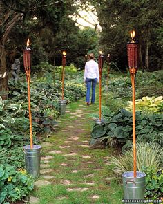Tiki Torch Anchors