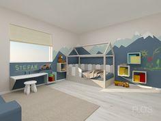 Design Projects, Kids Room, Toddler Bed, Loft, Interior Design, Furniture, Home Decor, Child Bed, Nest Design