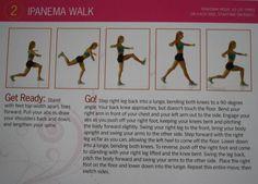 Brazilian butt lift moves Ipanema walk
